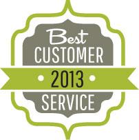 Best Customer Service Award, 2013