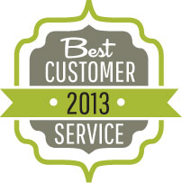 Best Customer Service Award, 2013